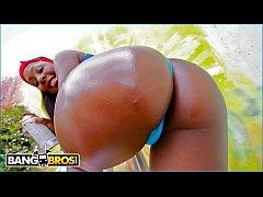 BANGBROS - Curvy Black Pornstar Ms. Platinum Ge...
