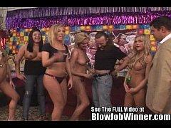 All natural blonde babe pornstar Ally Kay blows...
