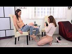 VIPissy - Antonia Sainz and Miky Love enjoy les...