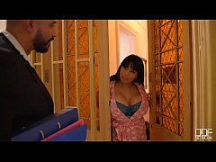 Going Deep - Busty Horny Housewife Fucked By Tw...
