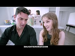 DaughterSwap - Curvy Teens Succumb To Daddys Ha...