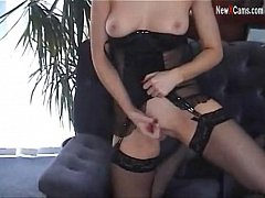English Slut Rose Tells You How to Wank On a Ca...