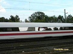 thumb train fucking w  ith nasty wife