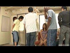 Japanese sweetheart Mizuki Iori abused on the s...