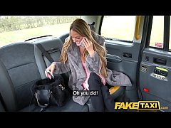 Fake Taxi Busty Welsh Milf Stacey Saran wanks a...