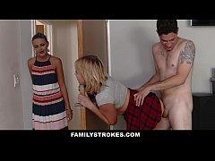 FamilyStrokes - Scavenger Hunt with sis turns s...