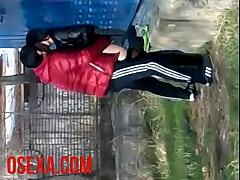 Узбечку выебали на улице секс на скрытую камеру