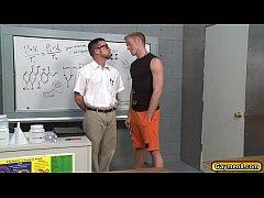 Student let his Teacher suck his dick