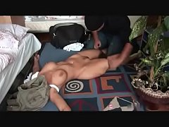 Burglar has his way with hot blond christina