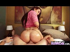 Anal Sex With Curvy Big Oiled Up Butt Girl (man...