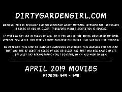 APRIL 2019 updates at Dirtygardengirl - anal fi...
