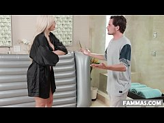 Step son massage - Nina Elle and Tyler Nixon