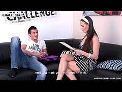 Newcomer visit Mea Melone to show her his sexua...