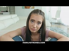 FamilyStrokes - Stepdaughter with Big Ass Seduc...
