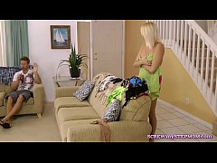 Shameless stepmom walking naked