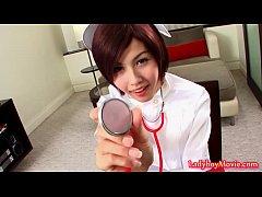 thumb ladyboy nurse s  huy strokes