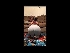 thick latina wife face riding in panties