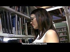 TeensLoveMoney - Library Nerd (Penelope) Fucks ...