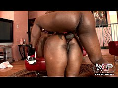 WCP CLUB Phat ass Ebony Slut Butterfly Anal fuc...