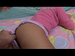 Hot amateur girl fucked with the lollipop and s...