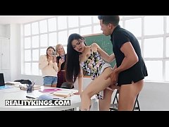 Teens love Huge COCKS - (Alberto Blanco, Rae Li...