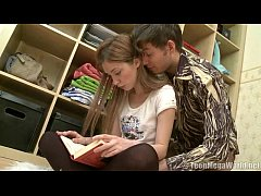 thumb pretty student  takes a creampie by her brothe e by her brothe e by her brother