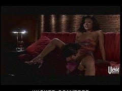 HOT Asian brunette Keylani-Lei loves to ride he...