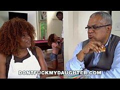 DON'T FUCK MY DAUGHTER - Ebony Teen Kendall Woo...
