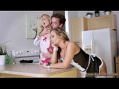 Petite blonde Weird Family Sex Science