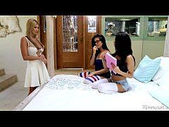 Natalie Monroe, Veronica Rodriguez and Lisa Dan...