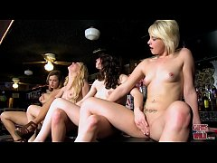 GIRLS GONE WILD - Lesbian Girls Night Out At Ba...