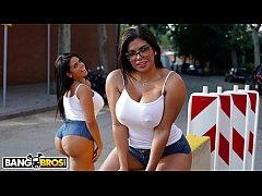 BANGBROS - Kesha & Sheila Ortega's Huge Asses G...