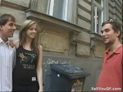 Man Prostitutes His Hot Girlfriend to a Stranger