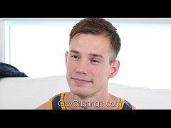 GayCastings - Amateur Clean Cut Cameron Jakob T...