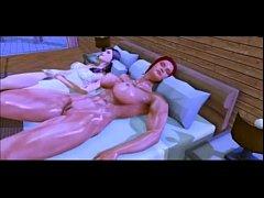 Futanari Muscle Girls 3D