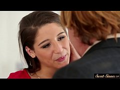 Glamcore stepdaughter creampied after fucking