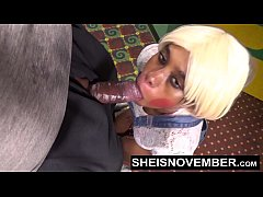 Sheisnovember Redbone Taking Cumshot Facial In ...