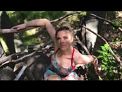 Stepmom helps stepson cum in his treehouse - Er...