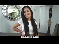 Big Tits Latina Teen Step Sister Out Of Jail An...