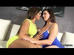 Busty Babes Sara Jay and Richelle Ryan in Hot G...