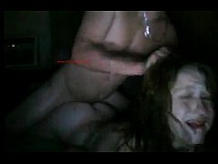 PAWG moans while getting punished by daddy - al...