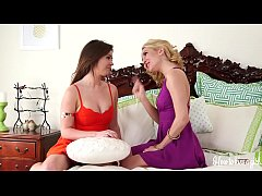 Two Hot Lesbian Sisters Having Fun Learning
