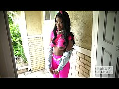 Ebony teen fuckdoll Kandie Monae gets smashed r...