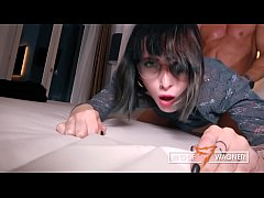 Cute coed LOU NESBIT gets nailed by her blind d...