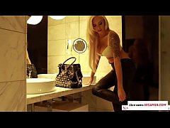 German Pornstar Nina Elle doing a little role p...