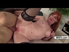 Older redhead doggystyle fucking pussy licking ...