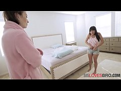 Interracial Interaction Encouraged By MOM B\/W B...