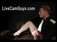 Men In Uniform Deep Throating