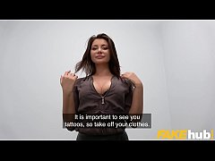 Fake Agent Anna Polina fucked in a casting inte...