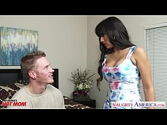 thumb fake titted  mom mercedes carrera fuck a hard cock